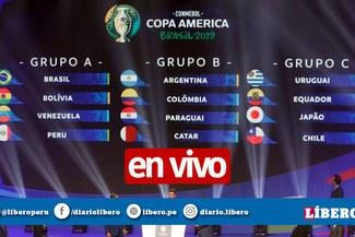 Copa Amérca 2019 [ONLINE] Tabla de posiciones, resultados y programación de la fecha 2 [FIXTURE ONLINE]