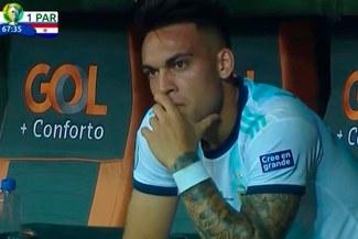 Lautaro Martínez explotó tras su cambio: ¿Qué dijo sobre decisión de Scaloni?