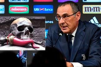"""Nápoli le da la """"bienvenida"""" a Maurizio Sarri y le desea """"buena suerte"""""""