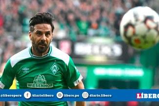 Claudio Pizarro estrenará nueva dorsal en el Werder Bremen para la siguiente temporada