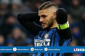 El Inter le da la peor de las noticias a Mauro Icardi