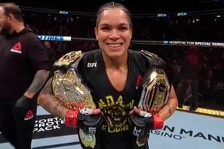¡Se lució! Amanda Nunes venció por K.O. a Holly Holm en el primer asalto por el UFC 239 [VIDEO]