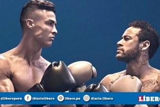 ¿Cristiano Ronaldo y Neymar se enfrentaron en pelea de box? [VIDEO]