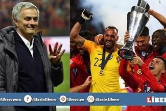 """Mourinho: """"Si invitan a Portugal, Cristiano podría ganar una Copa América antes que Messi"""""""