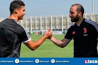 Cristiano Ronaldo y Gonzalo Higuaín, una dupla que asegura goles