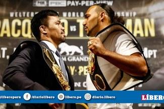 Pacquiao vs Thurman [VIDEO] fecha, horario, cartelera y apuestas de la pelea por el título mundial de peso wélter