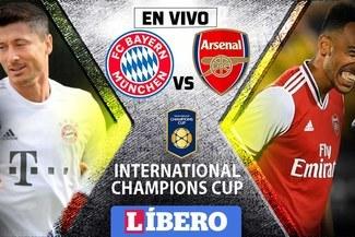 Bayern Munich vs Arsenal EN VIVO vía Directv por la International Champions Cup 2019