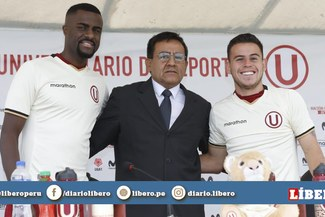 Universitario presentó a Christian Ramos y Henry Vaca, sus flamantes refuerzos para el Clausura [VIDEO]