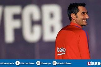 """Ernesto Valverde sobre esta temporada del Barcelona:""""Queremos ganarlo todo"""""""