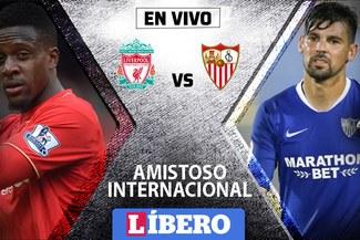 Liverpool vs Sevilla EN VIVO: se ven las caras en amistoso internacional
