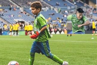 Bheem Goyal, el niño que debutó en el primer equipo del Seattle Sounders