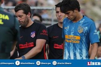 ¡Se encendieron las alarmas! Joao Felix se lesionó en su debut con el Atlético Madrid
