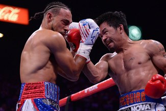 Pacquio derriba a la muralla Thurman: nuevo supercampeón AMB [VIDEO]
