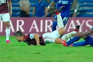 Flamengo: Diego sufrió una fractura en el tobillo izquierdo en choque con Emelec por la Libertadores [VIDEO]
