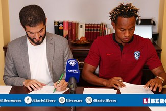 André Carrillo y la importante suma de dinero que recibirá Alianza Lima luego de firmar por Al-Hilal