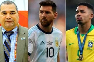 Chilavert ataca a la Conmebol por castigo a Messi y pide sanción a Gabriel Jesus