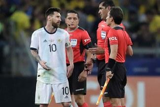 Increíble: Conmebol reconoció error en el VAR durante el Brasil-Argentina por Copa América [VIDEO]
