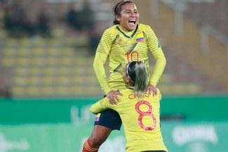 Colombia a la final del fútbol femenino tras derrotar 4-3 a Costa Rica en Lima 2019