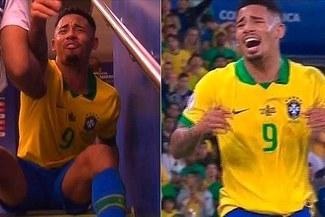 ¡No se salvó! Conmebol y el ejemplar castigo a Gabriel Jesús por expulsión en la final de la Copa América