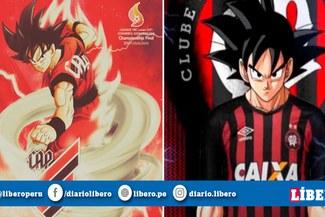 Dragon Ball: Athletico Paranaense rinde homenaje a la serie de Akira Toriyama en sus redes sociales