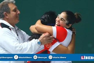¡Un bronce más! Perú venció 2-0 a Argentina en dobles femenino y se quedó con el tercer puesto [FOTOS]