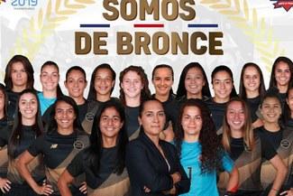 Costa Rica venció 1-0 a Paraguay y se quedó con el bronce en fútbol femenino de los Juegos Panamericanos