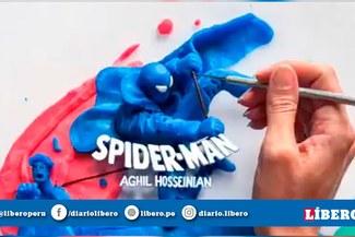 Spiderman y el sorprendente stop motion con plastilina creado por un fanático [VIDEO]