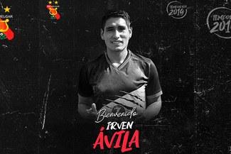 Irven Ávila fue oficializado por Melgar para jugar el Torneo Clausura