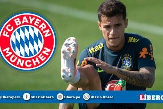 ¡Lo último! Bayern Múnich va por Philippe Coutinho