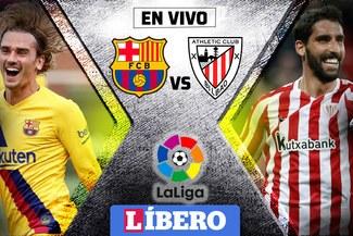 Barcelona cayó agónicamente 1-0 ante Athletic de Bilbao en inicio de LaLiga
