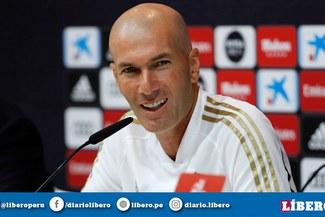 """Zinedine Zidane sobre el inicio de temporada: """"Queremos que empiece la Liga ya"""""""