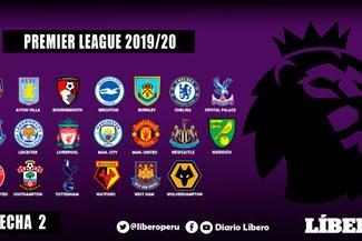 Premier League [ACTUALIZADO]: Resultados y tabla de posiciones de la fecha 2