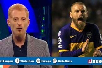 """Liberman sobre debut de De Rossi en Boca Juniors: """"Se convirtió en referente de un equipo mudo"""""""