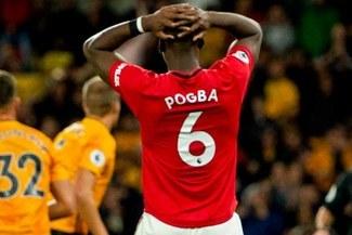 Paul Pogba recibe insultos racistas por el penal fallado ante el Wolves