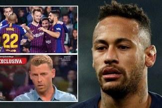 La llave para fichar a Neymar la tiene Arturo Vidal en Barcelona