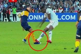Boca vs. Liga: La criminal falta de Orejuela sobre Reynoso que deja con 10 a LDU [VIDEO]