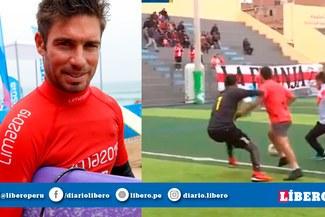 Piccolo Clemente demostró que la 'conoce' y anotó golazo en pichanga [VIDEO]
