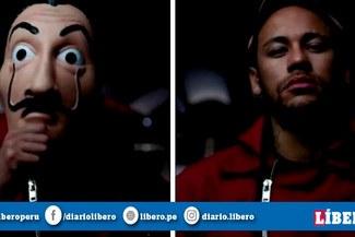 Neymar aparece en nuevas escenas de La Casa de Papel 3 [VIDEO]