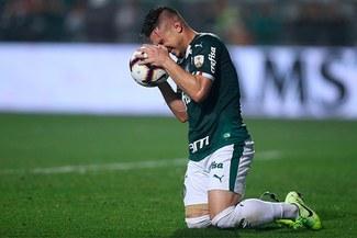 Palmeiras perdió 2-1 con Gremio y quedó fuera de la Copa Libertadores 2019