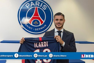 Mauro Icardi, el argentino número 16 en desembarcar en París
