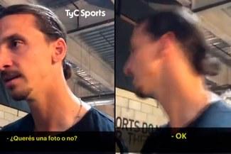 Zlatan Ibrahimovic iba a ser consultado por Boca Juniors, pero interrumpió con increíble frase [VIDEO]
