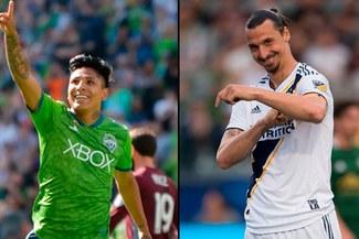 Zlatan Ibrahimovic se rinde ante Raúl Ruidíaz tras perder duelo de goleadores en la MLS | VIDEO