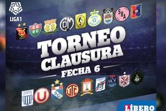 Liga 1: revisa los resultados y tabla de posiciones la fecha 6 del Torneo Clausura