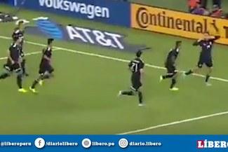 México vs Estados Unidos: 'Chicharito' Henández anotó de cabeza el 1-0 para el 'Tri'