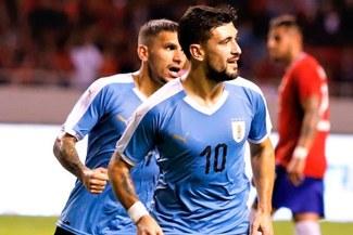 Uruguay logró triunfo agónico por 2-1 ante Costa Rica en amistoso