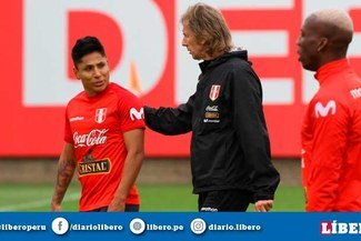 Ricardo Gareca mostró su respaldo total a Raúl Ruidíaz en la previa del Perú vs Brasil [VIDEO]
