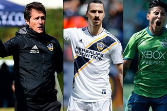 Raúl Ruidíaz fue alabado por Guillermo Barros Schelotto, DT de Ibrahimovic en LA Galaxy [VIDEO]