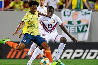 Colombia dominó, pero solo empató 0-0 con Venezuela en amistoso por Fecha FIFA [RESUMEN]