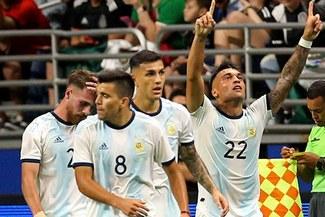 Con triplete de Lautaro Martínez: Argentina goleó 4-0 a México por amistoso internacional fecha FIFA