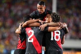 Con gol de Luis Abram, Perú le ganó 1-0 a Brasil en un partidazo